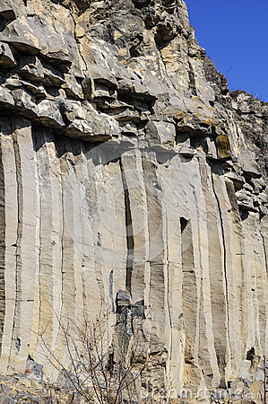 The Racos Basalt Columns detail