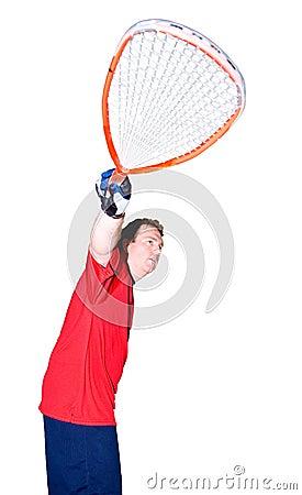 Racquet ball Player