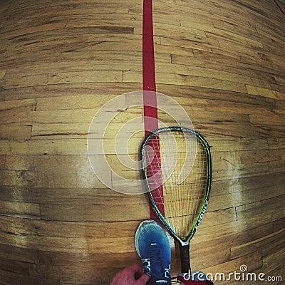 Racquetball Editorial Stock Photo