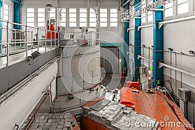 Réacteur nucléaire dans un institut de la science
