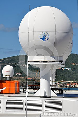 Radar antenna Editorial Image