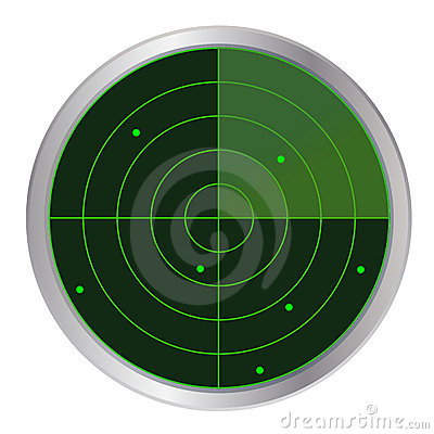 Radar button