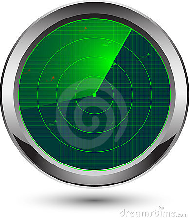 Free Radar Icon Royalty Free Stock Photo - 19015355