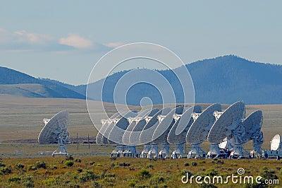 Radars in desert
