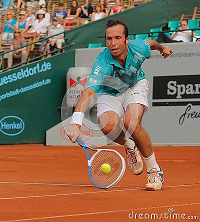 Radek Stepanek, tenis 2012 Imagen editorial