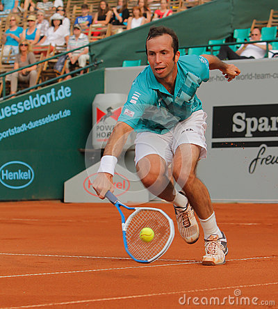Radek Stepanek, tênis 2012 Imagem Editorial
