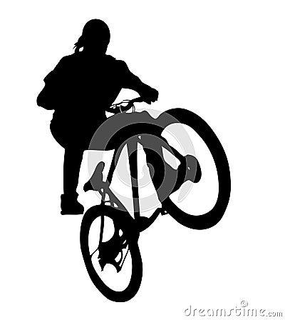 Radfahrer (AI-Format vorhanden)