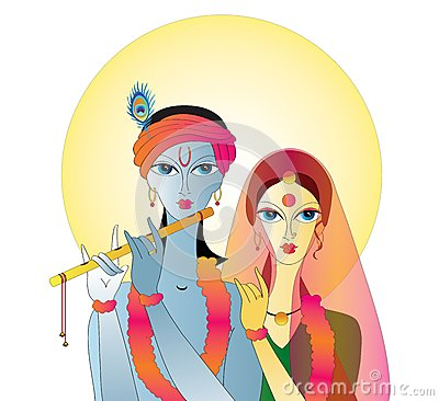 Radha Krishna  Abstract