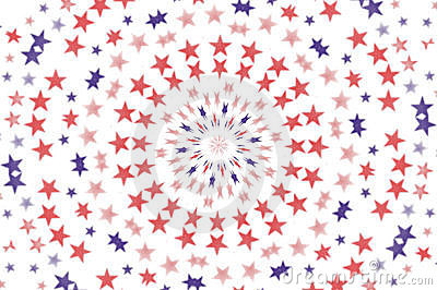 Radial Stars wallpaper background