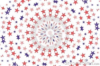 Radial Stars wallpaper background