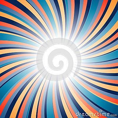 Radial twirl