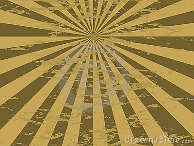 Radiate mottled gold