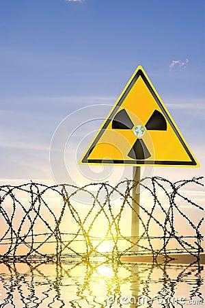 Radiating danger