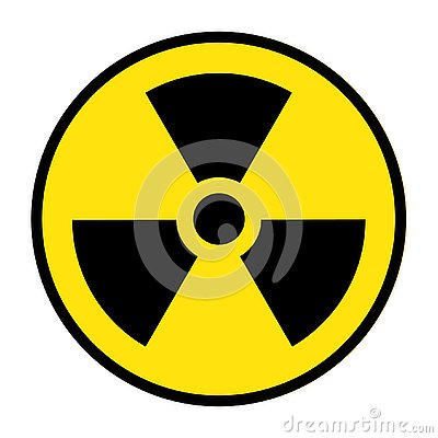 The radiation icon. Radiation symbol Vector Illustration