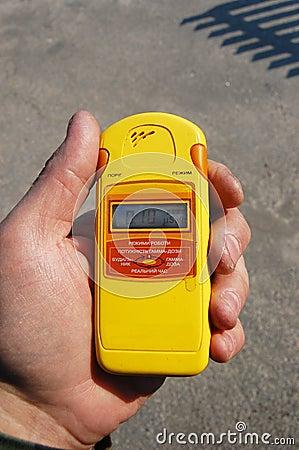 Free Radiation Measurment. Royalty Free Stock Image - 9228826