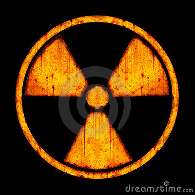 Radiation – round sign