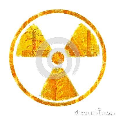 Radiation – round sign