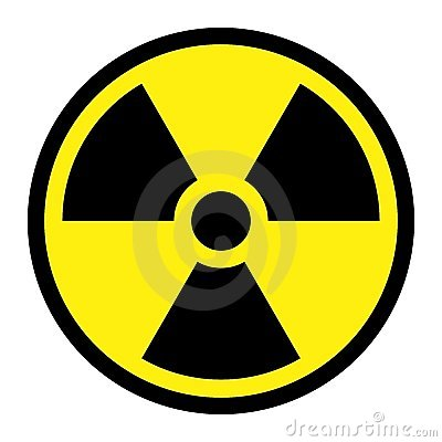 Free Radiation - Round Sign Royalty Free Stock Photo - 8153425