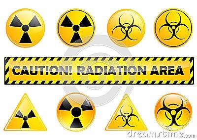 Radiation set