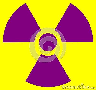 Radiation Symbol Royalty Free Stock Photo - Image: 34501455