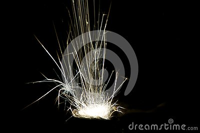 Radiative spark