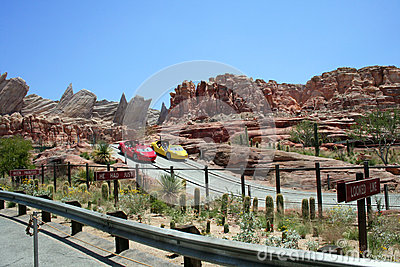 Radiator Springs Racers Editorial Photography