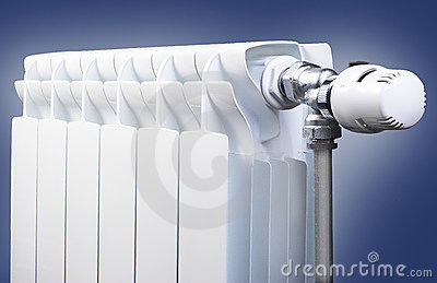 Radiator with thermostatic head
