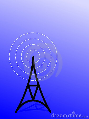 Radio antena/ tower (vector)