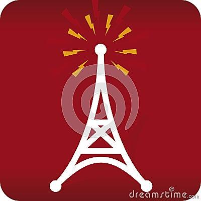 Free Radio Antenna (vector) Royalty Free Stock Photography - 2363947