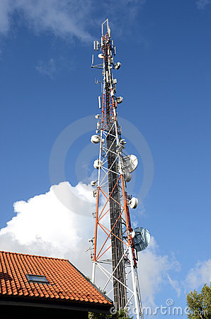 Radio broadcasting and mobile transmitters.
