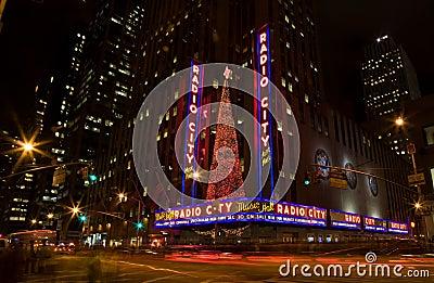 Radio City Music Hall Editorial Photography