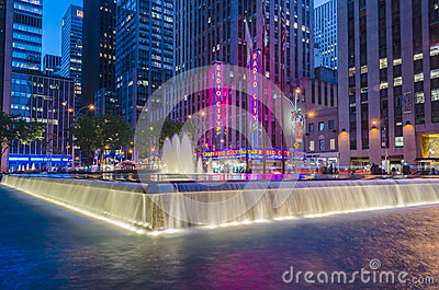 The Radio City Music Hall, New York Editorial Stock Image