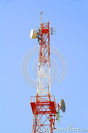 Free Radio Communications Antenna Stock Photo - 3276160
