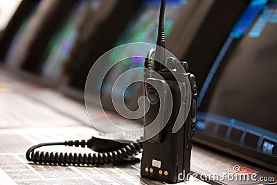 Radio communications in control room