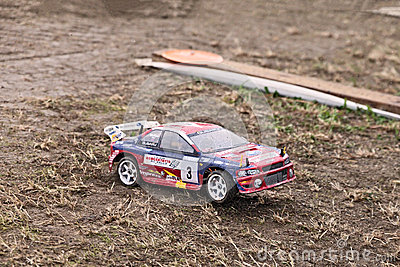 Radio controlled baggy Editorial Stock Photo