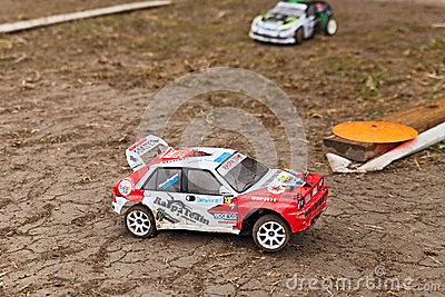 Radio controlled baggy Editorial Stock Image