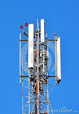 Free Radio GSM Antenna Royalty Free Stock Photos - 81831558