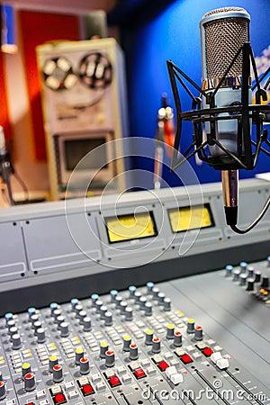 Radio mixer panel