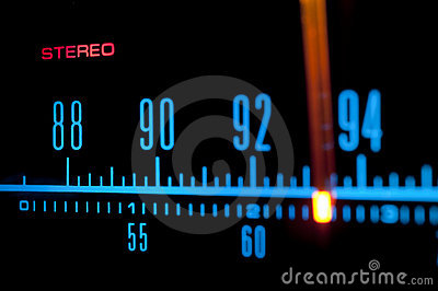 Radio Scale 02 Royalty Free Stock Photos - Image: 14236838