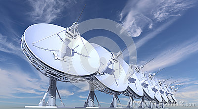 Radio telescopes