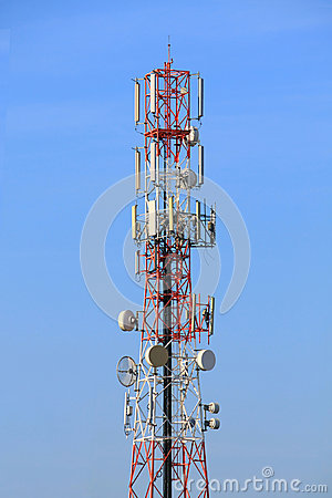 Free Radio Tower Royalty Free Stock Photo - 28451625
