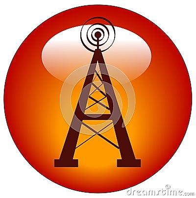 Radio+tower+illustration