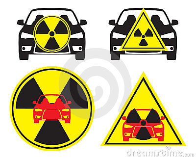 Radioactive car