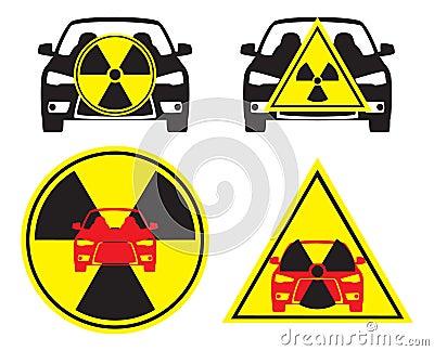 Radioactive car