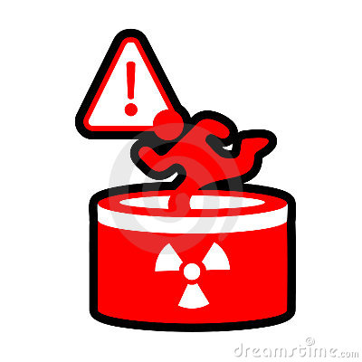 Radioactive danger