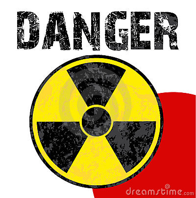 Radioactive danger japan