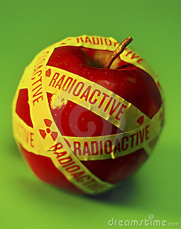 Radioactive Food Apple
