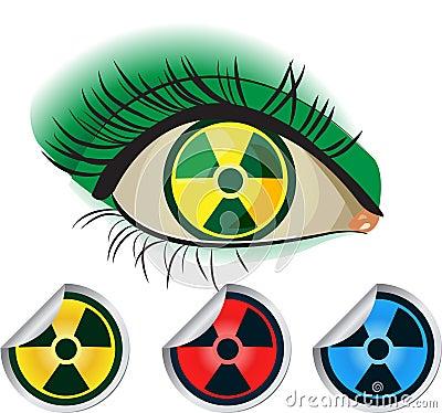Radioactive ikons