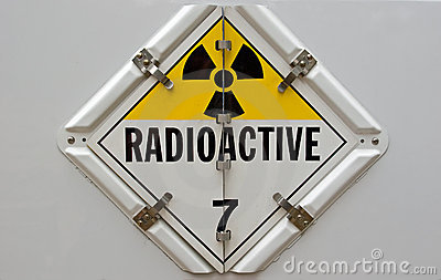Radioactive Placard