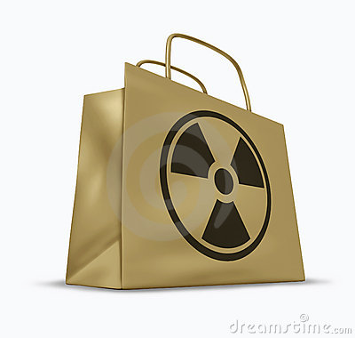 Radioactive and radiation contaminated goods